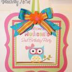 Girly Owl 10